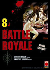 manga BATTLE ROYALE 8 (DI 15)