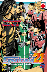 manga EYESHIELD 21 - 23