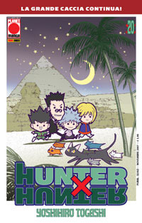 hunter x hunter ristampa 20