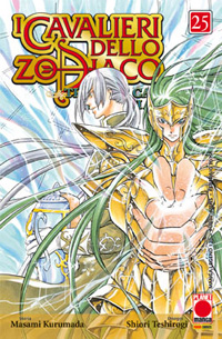 Planet manga: i cavalieri dello zodiaco lost canvas 25
