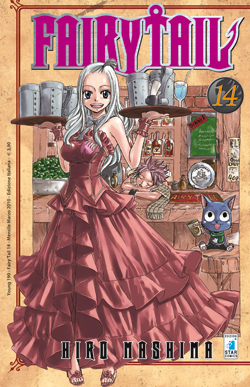 fairy tail manga volume 14