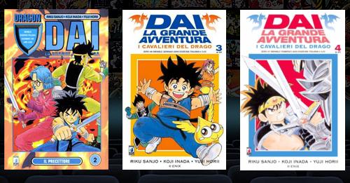 Dai La grande avventura manga