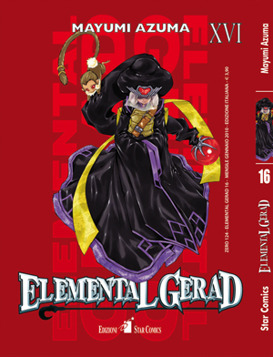 elemental gerad manga volume 16