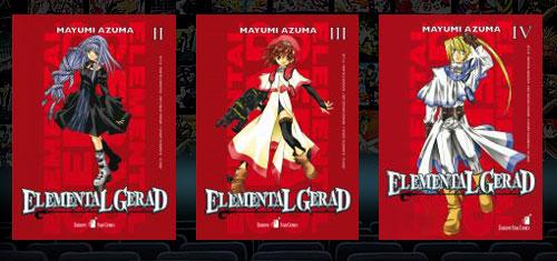 Elemental Gerad manga
