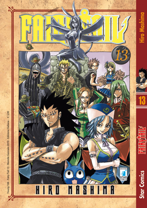 fairy tail manga volume 13