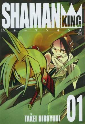 cover shaman king pe