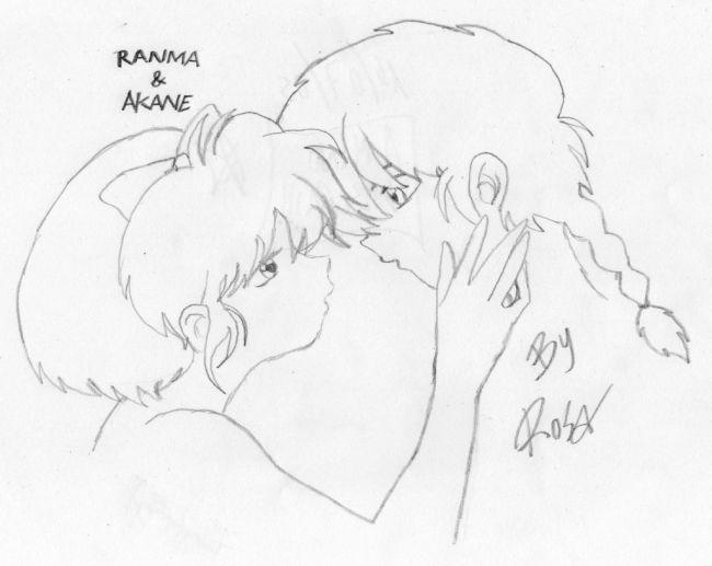akane kiss ranma