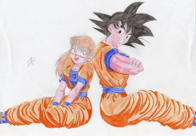 dragonball mix – goku and me