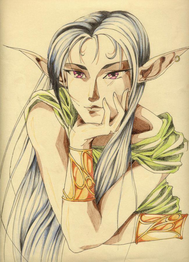 elfa posing