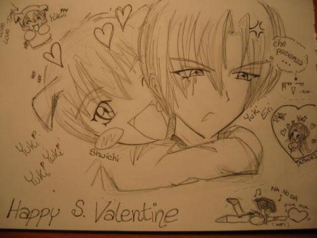 Happy san Valentine Yuki!