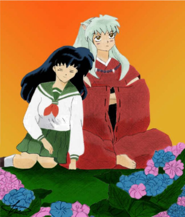 inu & kagome color