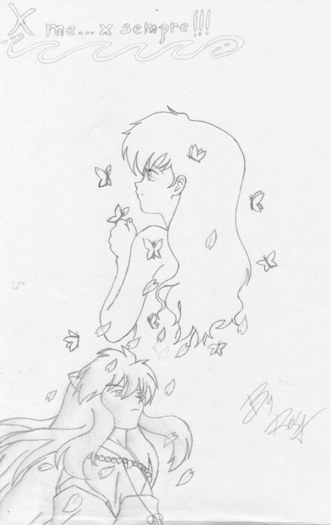 inuyasha and kagome – for me for ever