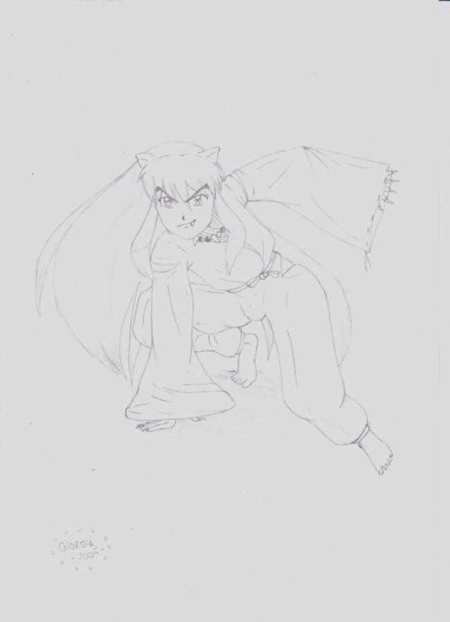Inuyasha pose