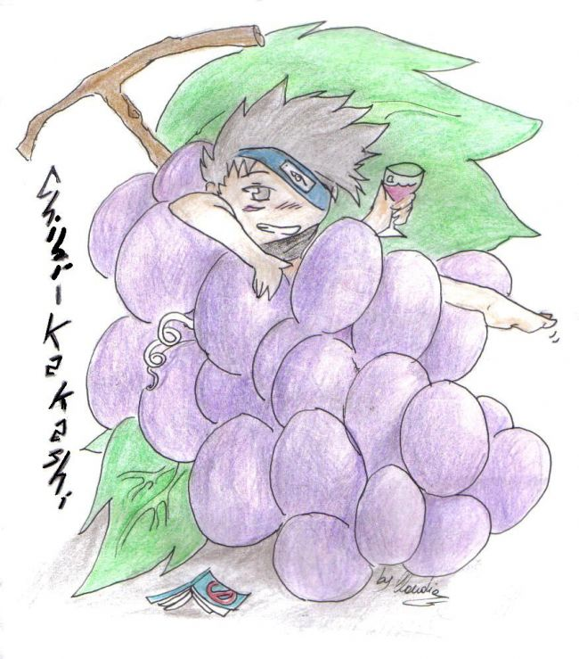 kakashi grapes