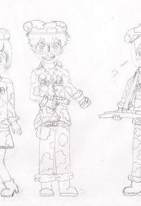 ken, daisuke e hikari