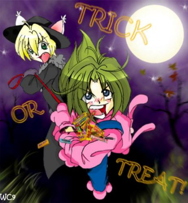 ryu s very happy halloween
