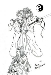 saiyuki boys gaiden 500 year old