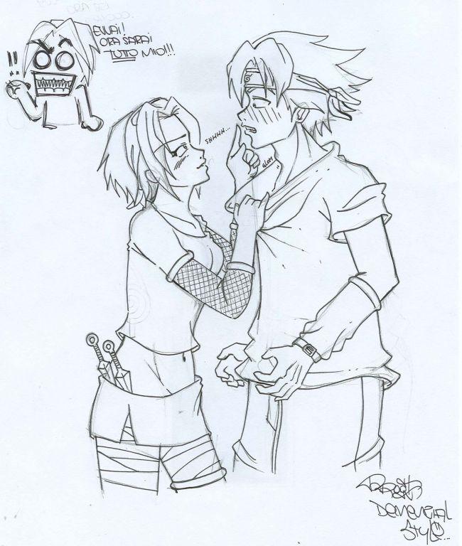 sakura e sasuke