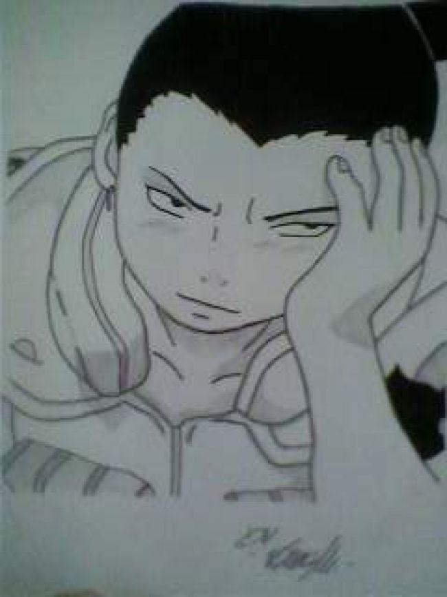 shikamaru bored