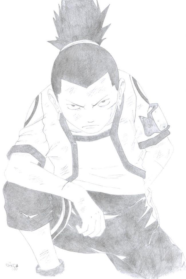 shikamaru posing