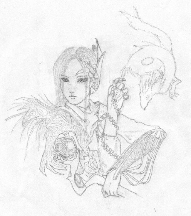 shikigami and priestess
