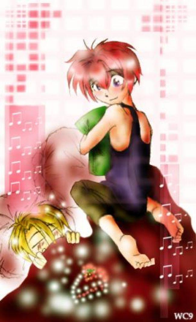 shuichi and yuki from