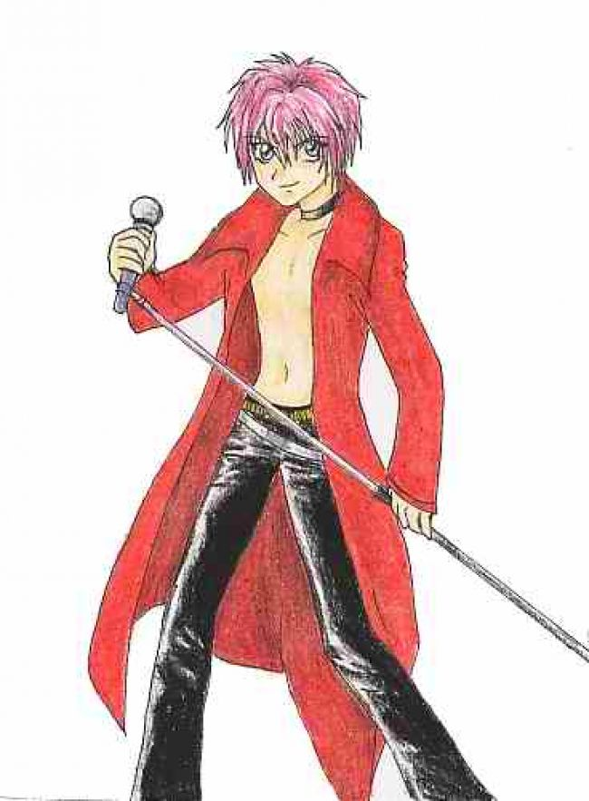 shuichi shirtless
