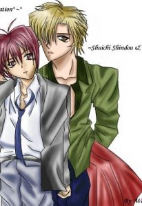 yuki and shuichi color