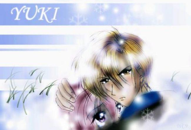 yuki e shuichi from gravitation falling snow