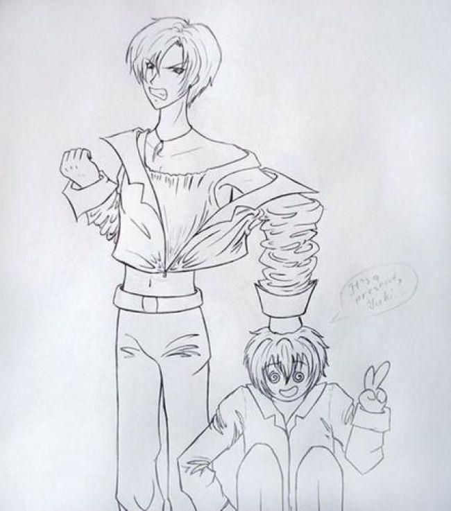 yuki & shuichi gravitation