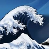 Katsushika Hokusai, la grande onda e i manga