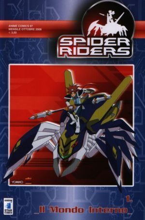 Spider Rider anime comics