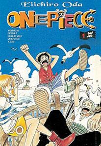 One Piece cover volume 1