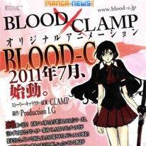 Blood-C: nuovo anime di CLAMP e Production I.G