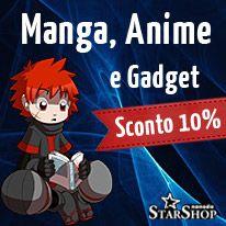 Nanoda Shop: compra manga, gadget, giochi e film con il 10% di sconto!