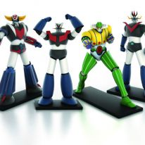 Go Nagai Robot Collection con La Gazzetta