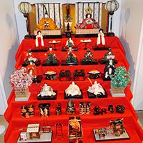 Mostra di Bambole Giapponesi all'Istituto di Cultura di Roma (Marzo 2015)
