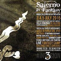Salerno In Fantasy: 3-5 Luglio 2015 a Salerno